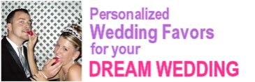 personalized wedding favors for your dream wedding